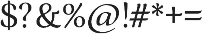 Ninfa Regular otf (400) Font OTHER CHARS