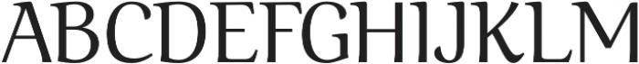 Ninfa Regular otf (400) Font UPPERCASE