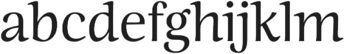 Ninfa Regular otf (400) Font LOWERCASE