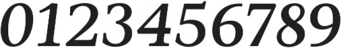 Ninfa Serif SemiBold Italic otf (600) Font OTHER CHARS