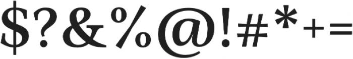 Ninfa Serif SemiBold otf (600) Font OTHER CHARS
