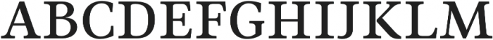 Ninfa Serif SemiBold otf (600) Font UPPERCASE