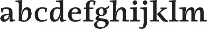 Ninfa Serif SemiBold otf (600) Font LOWERCASE