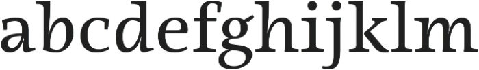 Ninfa Serif otf (400) Font LOWERCASE