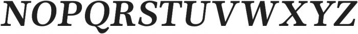 Ninfa Serif otf (700) Font UPPERCASE