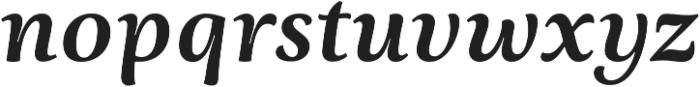 Ninfa Serif otf (700) Font LOWERCASE