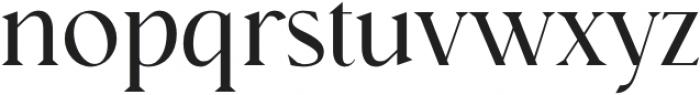 Nissma Standard Regular otf (400) Font LOWERCASE
