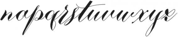 Nistiver Black otf (900) Font LOWERCASE