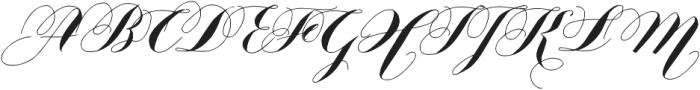 Nistiver otf (400) Font UPPERCASE