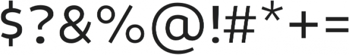 Niva-Alt Book otf (400) Font OTHER CHARS