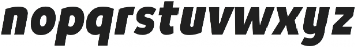 Niva Black-Italic_Condensed otf (900) Font LOWERCASE