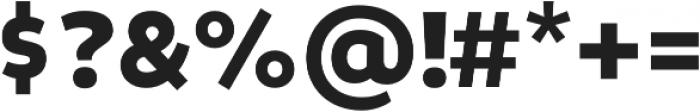 Niva Black otf (900) Font OTHER CHARS