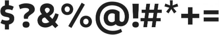 Niva Bold otf (700) Font OTHER CHARS