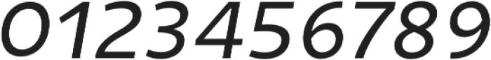 Niva Book-Italic otf (400) Font OTHER CHARS
