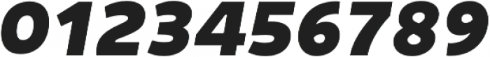 Niva ExtraBlack-Italic otf (900) Font OTHER CHARS