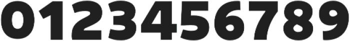 Niva ExtraBlack otf (900) Font OTHER CHARS
