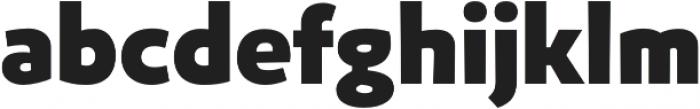 Niva ExtraBlack otf (900) Font LOWERCASE