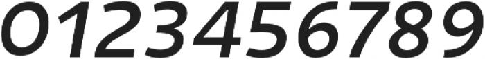 Niva Italic otf (400) Font OTHER CHARS