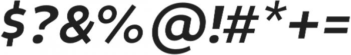 Niva Medium-Italic otf (500) Font OTHER CHARS