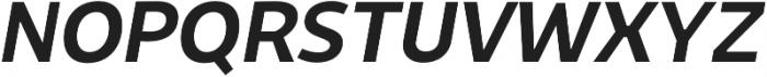 Niva Medium-Italic otf (500) Font UPPERCASE