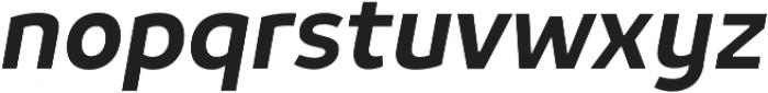 Niva Medium-Italic otf (500) Font LOWERCASE