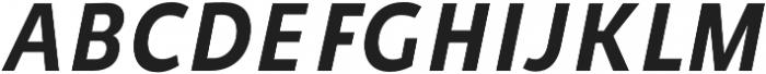 Niva Medium-Italic_Condensed otf (500) Font UPPERCASE