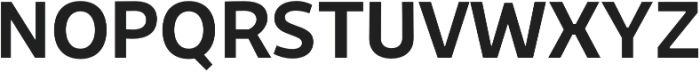 Niva Medium otf (500) Font UPPERCASE