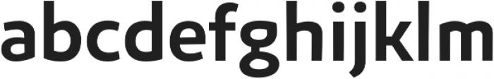 Niva Medium otf (500) Font LOWERCASE