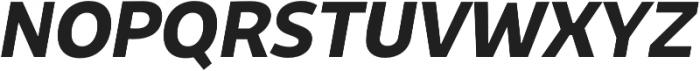 Niva SmallCaps Bold-Italic otf (700) Font UPPERCASE