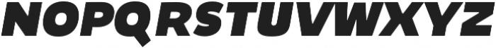 Niva SmallCaps ExtraBlack-Italic otf (900) Font LOWERCASE