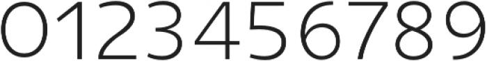 Niva SmallCaps ExtraLight otf (200) Font OTHER CHARS