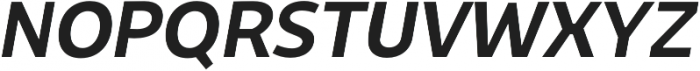 Niva SmallCaps Medium-Italic otf (500) Font UPPERCASE