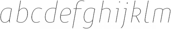 Niva Thin-Italic_Condensed otf (100) Font LOWERCASE