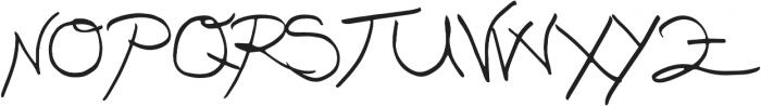 Nizary Thin otf (100) Font UPPERCASE