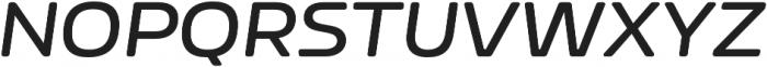 Nizzoli Rd SemiBold It otf (600) Font UPPERCASE
