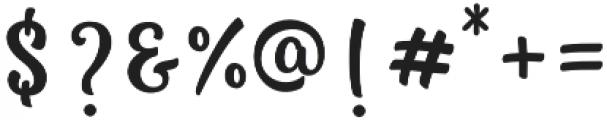 nicky otf (400) Font OTHER CHARS