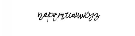 NielsenOwen-Script.otf Font LOWERCASE