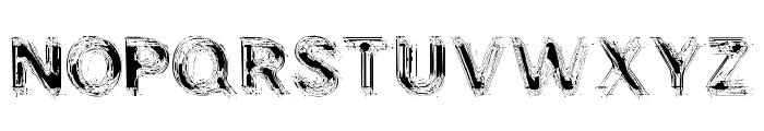 NIBIRU Font UPPERCASE