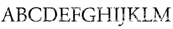 NIGHTMARE PILLS Font UPPERCASE