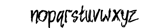 NIGHTMARE Font LOWERCASE