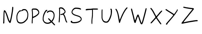 NISCRIPT-Regular Font UPPERCASE