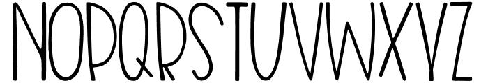 Nias Bird Font UPPERCASE