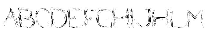 Nice Dream Come True Font UPPERCASE