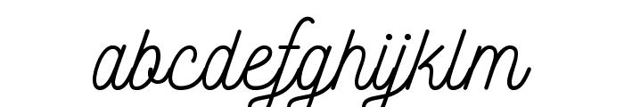 Nickainley Font LOWERCASE