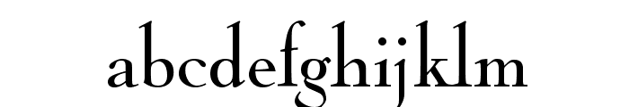 NicolasCocTReg Font LOWERCASE
