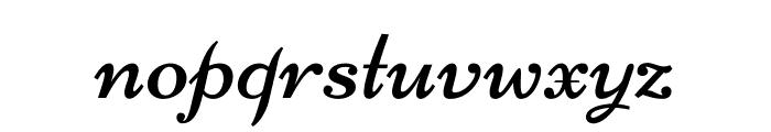 Nicone-Regular Font LOWERCASE