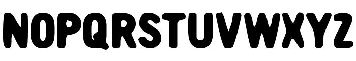 Nicotine Font UPPERCASE