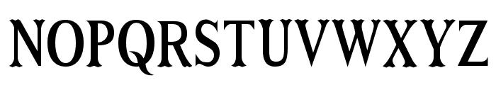 Niew CroMagnon Narrow Font UPPERCASE