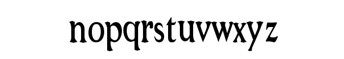 Niew CroMagnon Narrow Font LOWERCASE