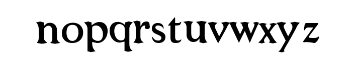 Niew CroMagnon Font LOWERCASE